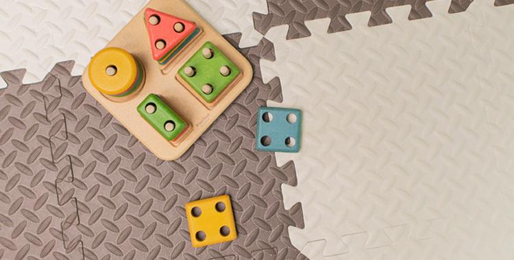 한조각 한조각 퍼즐형 유아매트