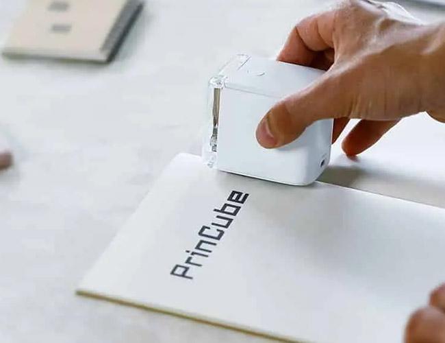 세상 가장 작은 컬러프린터, PrinCube
