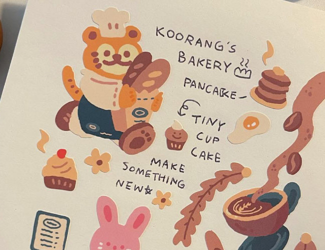 쿠랑이랑 뽀짝뽀짝 COOKING COOKIE!