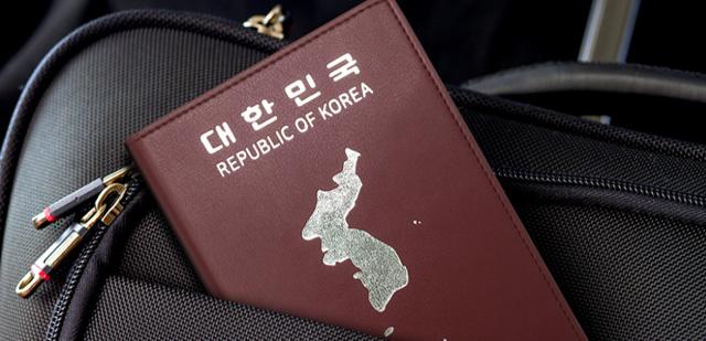 애국심 FLEX!  한반도 여권케이스 1+1