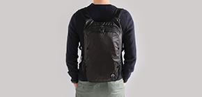 여행자를 위한 200g 초경량 가방, ZEEgo 포켓백팩