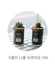 식물이 나를 위로하네 20%