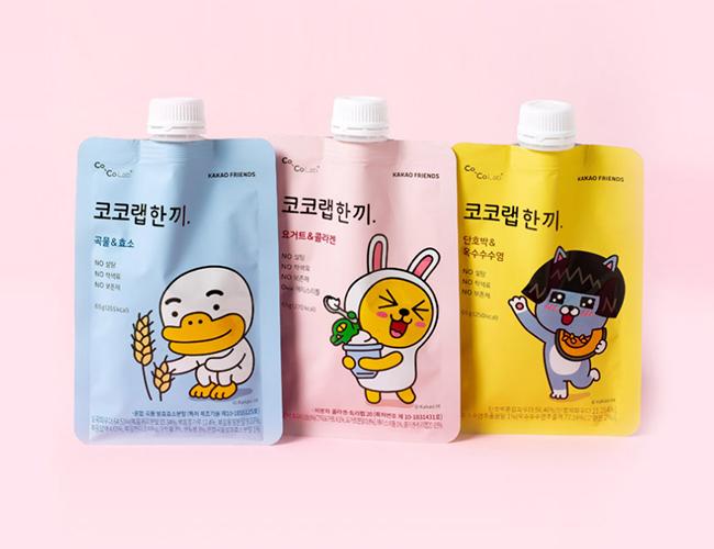 코코랩 X 카카오프렌즈 '맛있는 한끼'