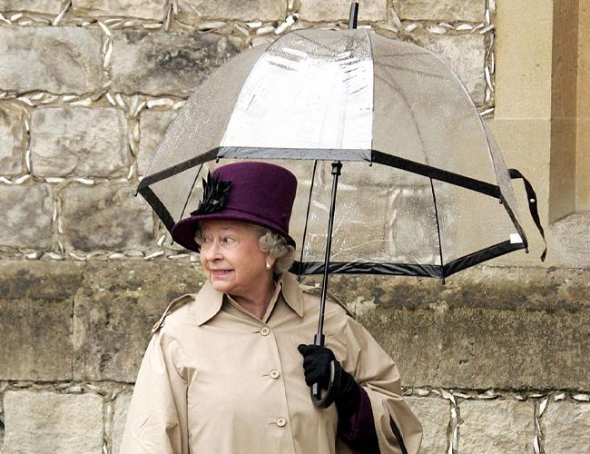 영국 왕실이 인정한 우산