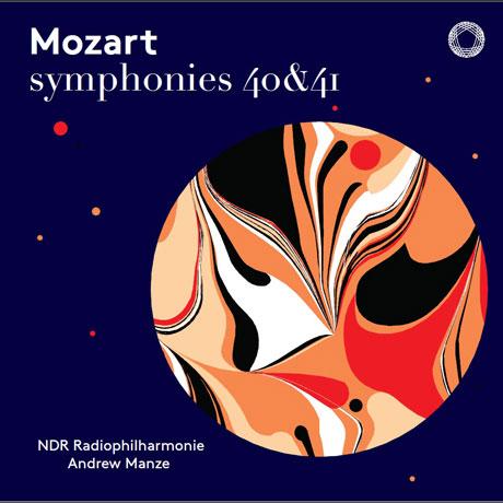 SYMPHONIES 40 & 41/ ANDREW MANZE [SACD HYBRID] [모차르트: 교향곡 40, 41번 - 앤드류 맨지]
