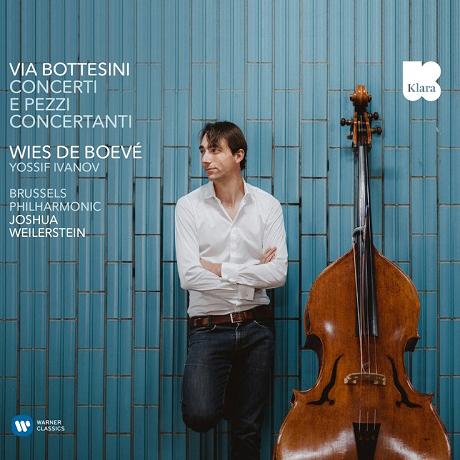 DOUBLE BASS CONCERTO/ WIES DE BOEVE, JOSHUA WEILERSTEIN [보테시니: 더블베이스 협주곡 - 비스 데 보브]