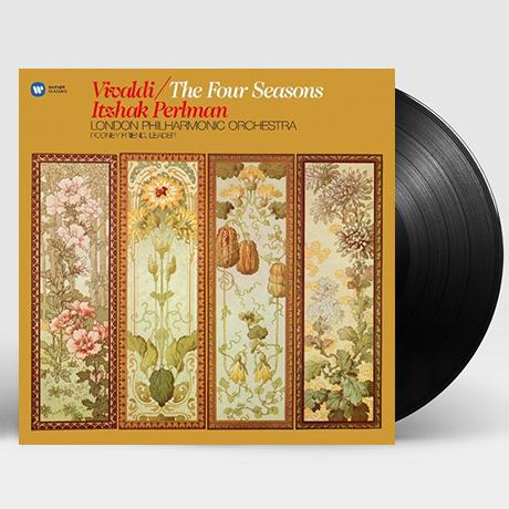 THE FOUR SEASONS/ ITZHAK PERLMAN [비발디: 바이올린 협주곡 <사계>| 이츠하크 펄만] [180G LP]