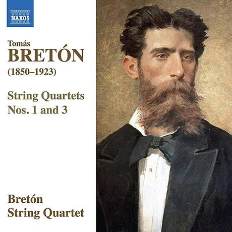 STRING QUARTETS NOS.1 & 3/ BRETON STRING QUARTET [브레톤: 현악사중주 1, 3번 - 브레톤 현악 사중주단]