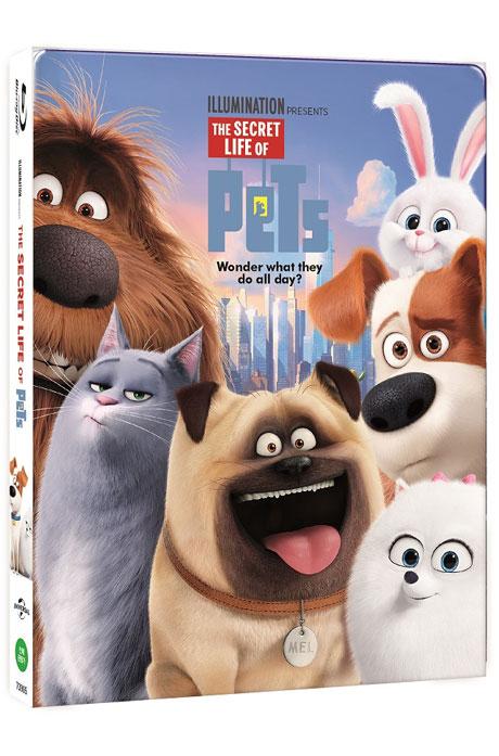 마이펫의 이중생활 3D+2D [스틸북 오링케이스 한정판] [THE SECRET LIFE OF PETS]