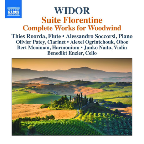 SUITE FLORENTINE & COMPLETE WORKS FOR WOODWINDS [비도르: 목관을 위한 작품 전곡]