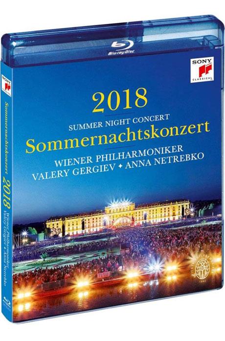 2018 SUMMER NIGHT CONCERT/ ANNA NETREBKO, VALERY GERGIEV [2018 빈 필하모닉 여름밤 콘서트 - 네트렙코, 게르기예프]
