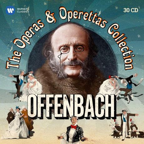 THE OPERAS & OPERETTAS COLLECTION [오펜바흐 탄생 200주년 기념 오페라, 오페레타 박스]