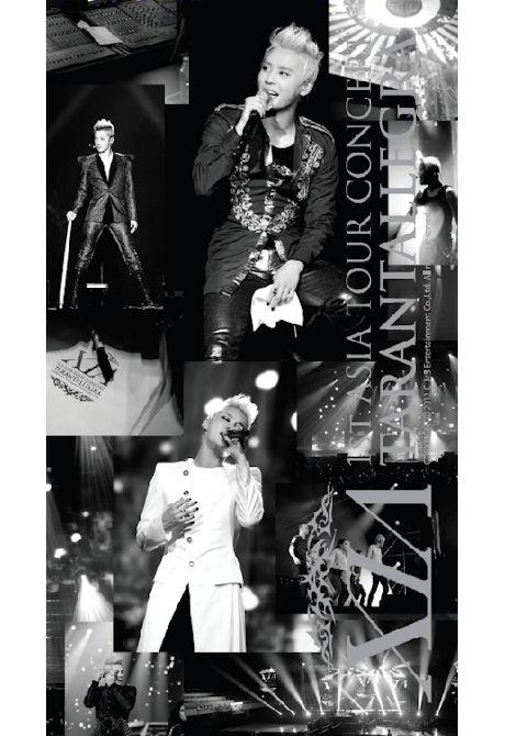 TARANTALLEGRA: 1ST ASIA TOUR CONCERT [3DVD+화보집] [준수: 아시아 투어콘서트 타란탈레그라]