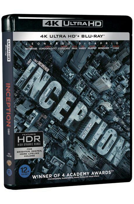 [명품화질할인] 인셉션 4K UHD+BD [INCEPTION]