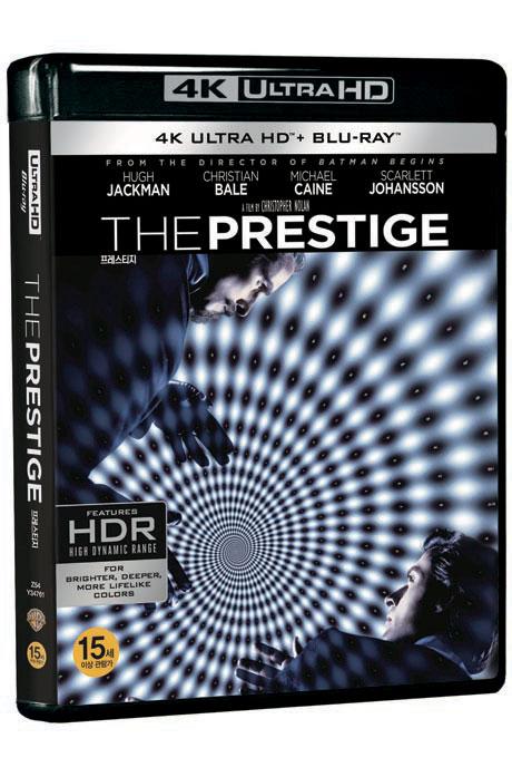 [명품화질할인] 프레스티지 4K UHD+BD [THE PRESTIGE]