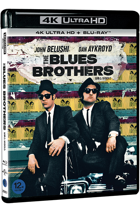 [명품화질할인] 브루스 브라더스 4K UHD+BD [THE BLUES BROTHERS]