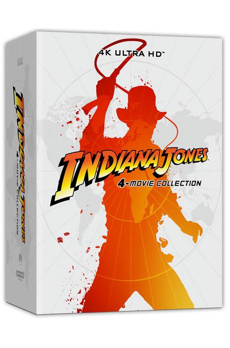 인디아나 존스 4 무비 콜렉션 4K UHD+BD [INDIANA JONES 4 MOVIE COLLECTION]