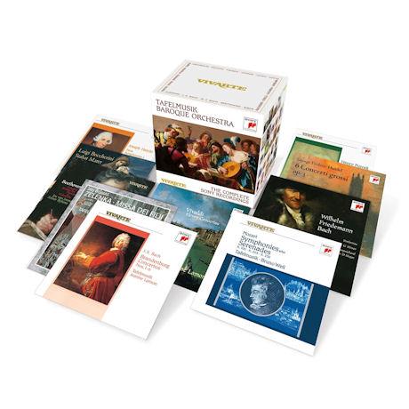 THE COMPLETE SONY RECORDINGS [타펠무지크 바로크 오케스트라: 컴플리트 소니 레코딩스] [한정반]