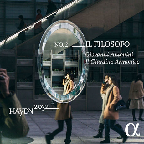 IL FILOSOFO/ IL GIARDINO ARMONICO, GIOVANNI ANTONINI [하이든 2032 프로젝트 2집: 교향곡 22번 <철학자> 외]