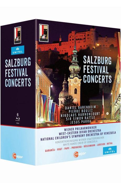 SALZBURG FESTIVAL CONCERTS [2008-2012 잘츠부르크 페스티벌 오프닝 모음 외]