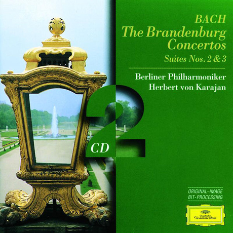 BRANDENBURG CONCERTOS & SUITES NOS.2 & 3/ HERBERT VON KARAJAN [바흐: 브란덴부르크 협주곡, 모음곡 2, 3번 - 카라얀]
