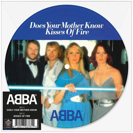 """DOES YOUR MOTHER KNOW [7"""" PICTURE LP]"""