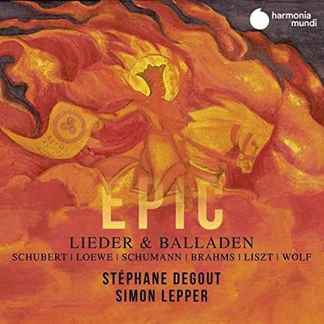 EPIC: LIEDER BALLADEN/ STEPHANE DEGOUT, SIMON LEPPER [에픽: 독일어 가곡 & 발라드 - 스테판 드구]