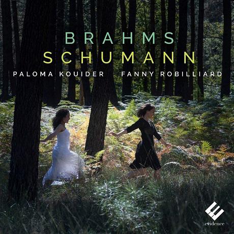 VIOLIN SONATAS/ FANNY ROBILLIARD, PALOMA KOUIDER [브람스: 바이올린 소나타 1번 & 슈만: 바이올린 소나타 1번 - 파니 로비야르]