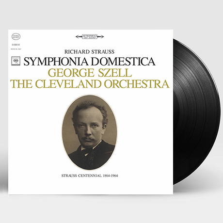 SYMPHONIA DOMESTICA/ GEORGE SZELL [리하르트 슈트라우스: 가정 교향곡 - 조지 셀] [LP]