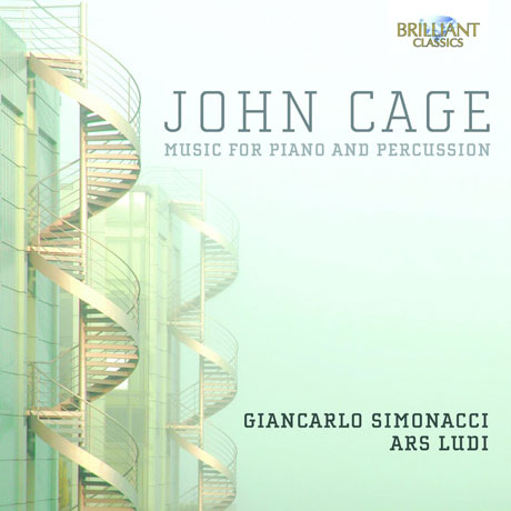 MUSIC FOR PIANO AND PERCUSSION/ GIANCARLO SIMONACCI [케이지: 피아노와 퍼커션을 위한 음악]