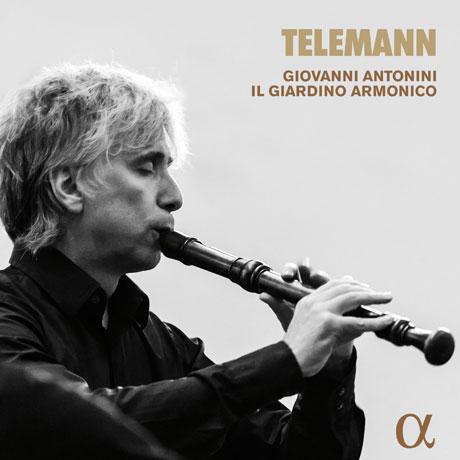 MUSIC FOR RECORDER/ GIOVANNI ANTONINI, IL GIARDINO ARMONICO [텔레만: 리코더 작품집]