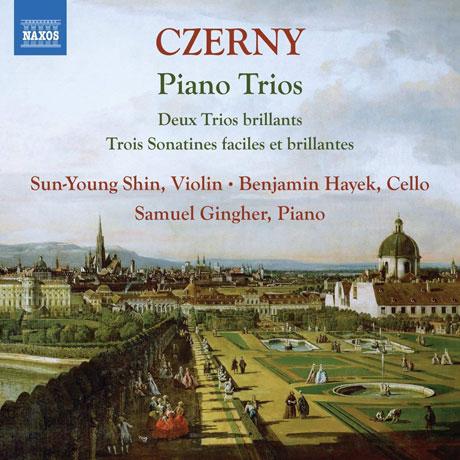 PIANO TRIOS/ SUN-YOUNG SHIN AND BENJAMIN HAYEK, SAMUEL GINGHER [체르니: 두 개의 화려한 삼중주,삼중주를 위한 세 개의 화려한 소나티네 - 신선영]