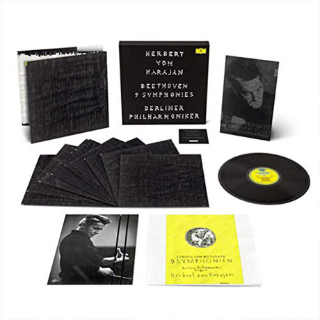 9 SYMPHONIES/ HERBERT VON KARAJAN [베토벤: 교향곡 전곡(60년대 녹음) - 카라얀 & 베를린 필하모닉] [넘버링 한정반] [180G LP]