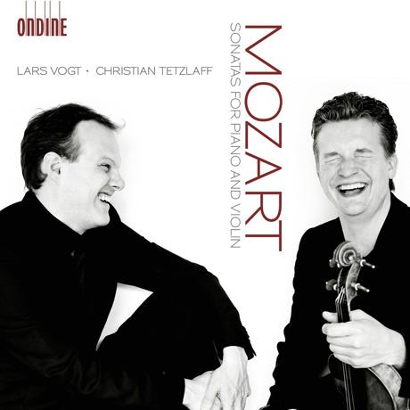 SONATAS FOR PIANO AND VIOLIN/ LARS VOGT, CHRISTIAN TET [모차르트: 바이올린 소나타 - 테츨라프 & 포그트]