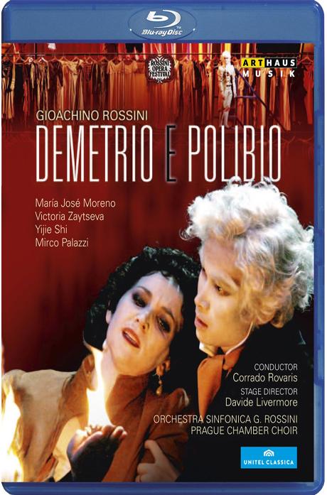 DEMETRIO E POLIBIO/ CORRADO ROVARIS [로시니: 데메트리오와 폴리비오] [블루레이 전용플레이어 사용]