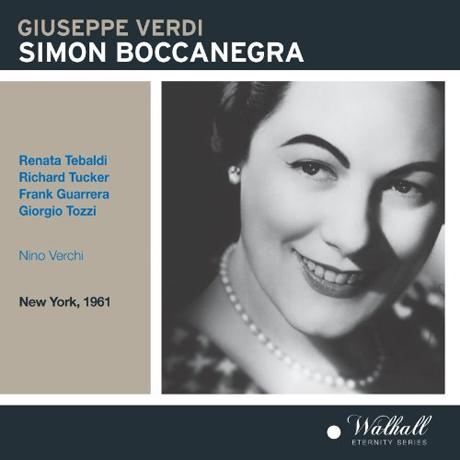 SIMON BOCCANEGRA/ NINO VERCHI [NEW YORK 1961] [베르디: 시몬 보카네그라]