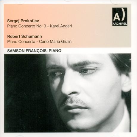 PIANO CONCERTOS/ SAMSON FRANCOIS, KAREL ANCERL, CARLO MARIA GIULINI