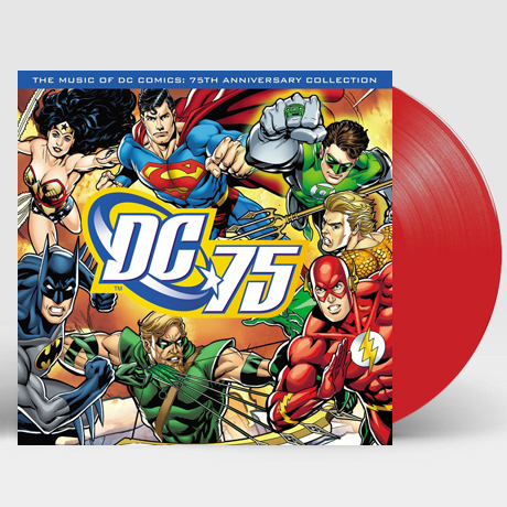 THE MUSIC OF DC COMICS: 75TH ANNIVERSARY COLLECTION [DC 코믹스 75주년 기념 콜렉션] [180G RED LP]