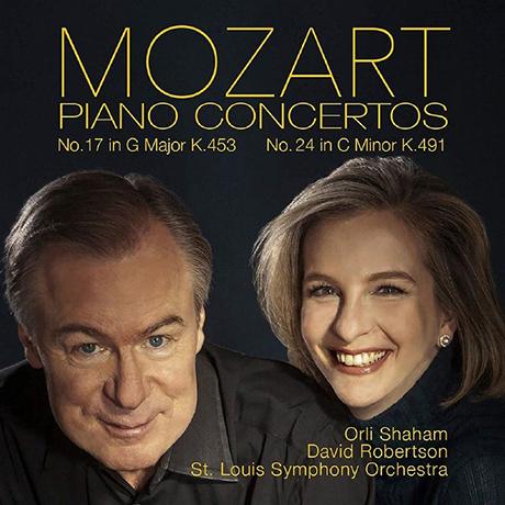 PIANO CONCERTOS NOS.17 & 24/ ORLI SHAHAM, DAVID ROBERTSON [모차르트: 피아노 협주곡 17, 24번 - 올리 샤함]