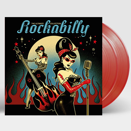 THE ULTIMATE ROCKABILLY COLLECTION [TRANSPARENT RED LP]