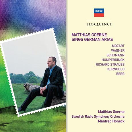 SINGS GERMAN ARIAS/ MANFRED HONECK