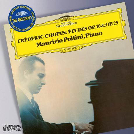 ETUDES OP.10 & 25/ MAURIZIO POLLINI [THE ORIGINALS] [쇼팽: 연습곡 - 마우리치오 폴리니]