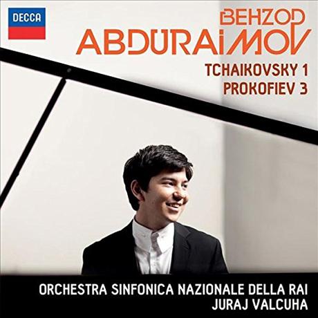PIANO CONCERTOS/ BEHZOD ABDURAIMOV, JURAJ VALCUHA [차이코프스키: 피아노 협주곡 1번 & 프로코피에프: 피아노 협주곡 3번]