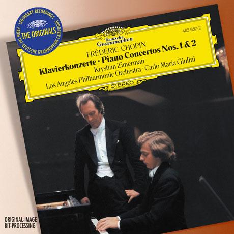 PIANO CONCERTOS NOS.1 & 2/ KRYSTIAN ZIMERMAN, CARLO MARIA GIULINI [THE ORIGINALS] [쇼팽: 피아노 협주곡 1, 2번 - 지메르만 & 줄리니]