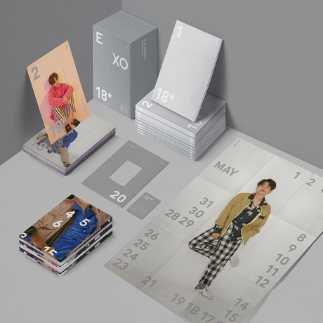 2018 EXO SEASONS GREETINGS