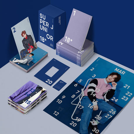 2018 SUPER JUNIOR SEASONS GREETINGS