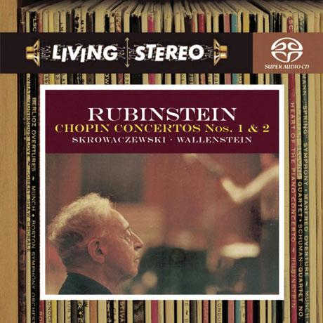 PIANO CONCERTOS NOS.1 & 2/ ARTHUR RUBINSTEIN [SACD HYBRID] [쇼팽: 피아노 협주곡 1, 2번 - 아르투르 루빈스타인]
