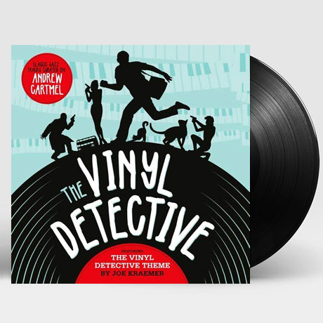 THE VINYL DETECTIVE: ANDREW CARTMEL [소설 <바이닐 탐정>: 재즈 명곡 모음집] [180G LP]