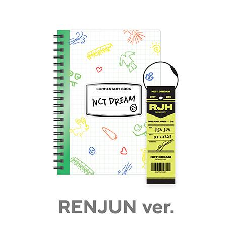 NCT LIFE : DREAM IN WONDERLAND [코멘터리북+러기지택 SET] [RENJUN]