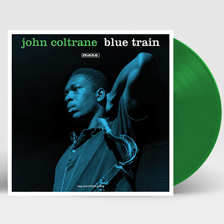 BLUE TRAIN [MONO] [180G GREEN LP]